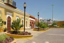 plaza of san jose del cabo - historic downtown